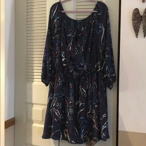 NWT Charlotte Russe long sleeved dress